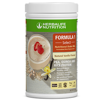 F1 Select Nutritional Shake Mix